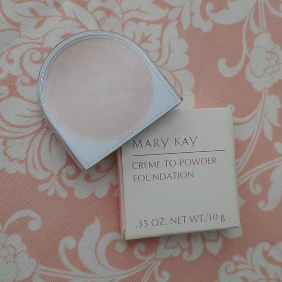 Mary Kay creme to powder foundation Ivory 1.0